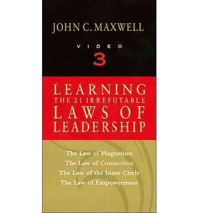Book Summary – The 21 Irrefutable Laws of Leadership by John Maxwell (Part 1)