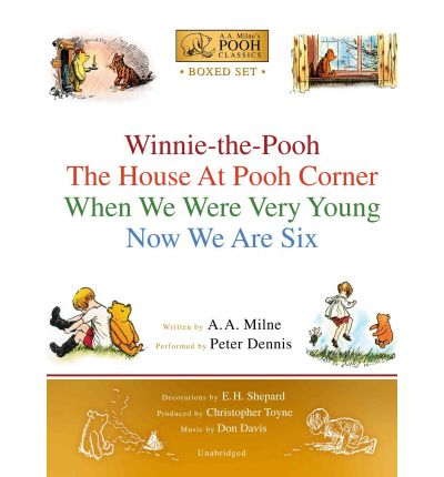 A.A. Milne's Pooh Classics Boxed Set : Winnie-The-Pooh; The House at Pooh Corner; When We Were Very Young; Now We Are Six