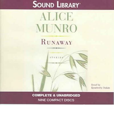 alice munro runaway Alice munro grew up in wingham, ontario, and attended the university of western ontario she has published eleven previous booksduring her distinguished career she has been the recipient of many awards and prizes, including the wh smith prize, the national book circle critics award, the pen.