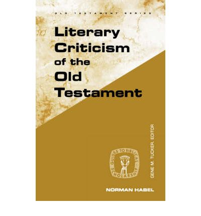 "a literary analysis of the old testament Enrichment section g: hebrew literary psalms is included in that part of the old testament known as the wisdom literature or ""in the final analysis."