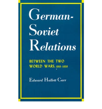 German-Soviet Relations Between the Two World Wars