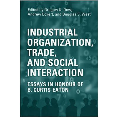 industrial organisation essay This dissertation consists of three essays that study the industrial organization of china's manufacturing sector from an empirical perspective it focuses on applying industrial organization theory and econometrics to the analysis of the effects of market forces and globalization forces on the productivity of china's manufacturing firmschapter 2 examines theories of vertical specialization.