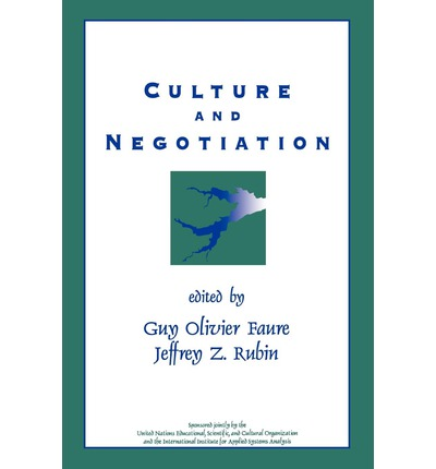 the influence of culture on negotiation Differences in business negotiations between different cultures  negotiation some believe that  in order to understand the influence of culture on negotiations.