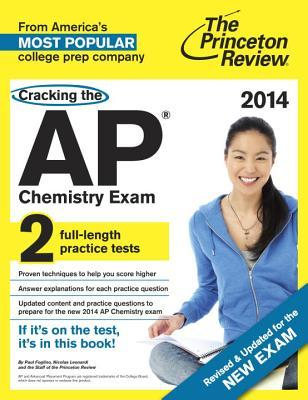 ap chemistry exam paperback princeton review cracking the ap chemistry