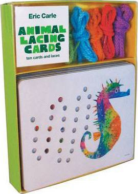 Eric Carle Animal Lacing Cards
