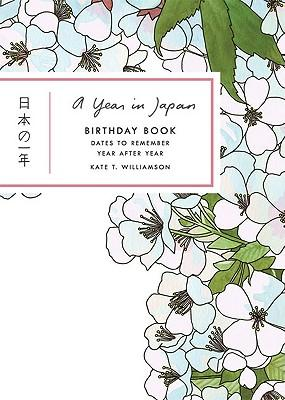 A Year in Japan Birthday Book