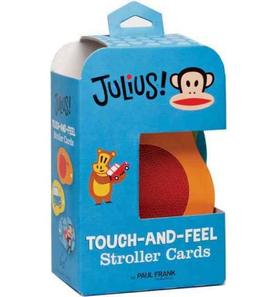 Julius Touch-and-Feel Stroller Cards