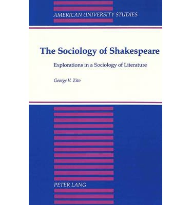 Ebooks kostenlose Downloads pdf The Sociology of Shakespeare in German PDF FB2 iBook by George V Zito
