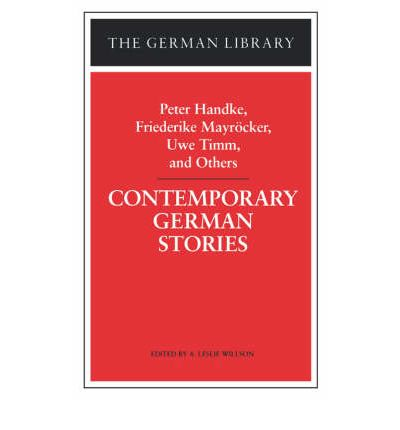 Contemporary German Stories