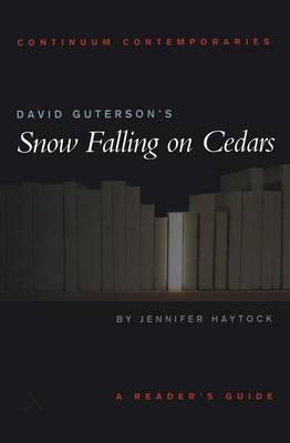 an analysis of snow falling on cedars a novel by david guterson Though the courtroom setting defines the present in snow falling on cedars, david guterson's finely wrought and flawlessly written first novel (he is the.