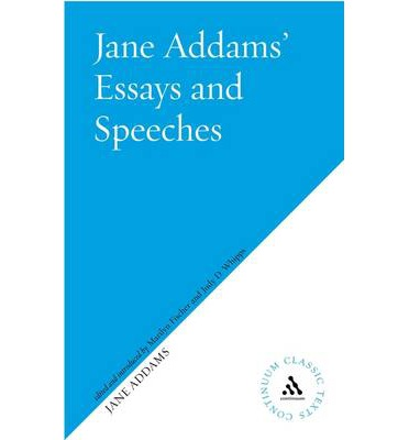 Jane Addams Critical Essays