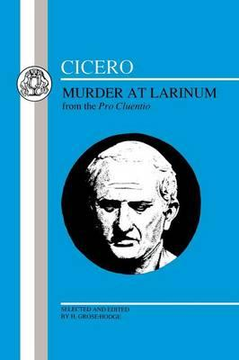 cicero latin essay A cicero reader: selections from five essays and four students will learn how classical latin was really written as they become familiar with the works of the.