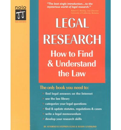 Finding tools in legal research