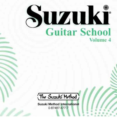 Suzuki Guitar School, Vol 4