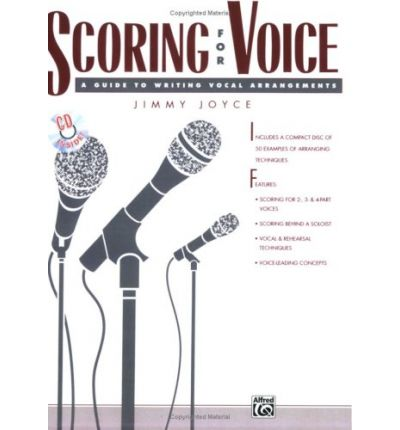 Scoring for Voice : Book & CD