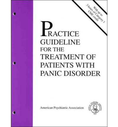 treatment of panic disorder pdf