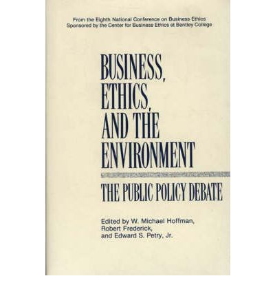 business ethics and environment pdf