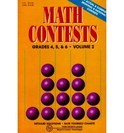 Math Contests - Grades 4, 5, and 6 Vol. 2