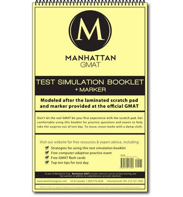 Manhattan GMAT Test Simulation