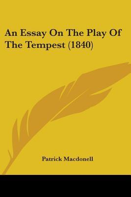 Term paper ideas for the tempest?