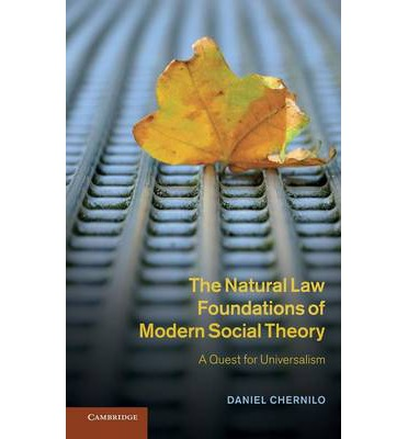 Contemporary essay law natural theory