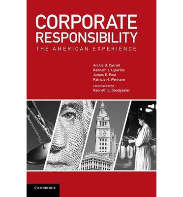 archie carroll csr The ethical and discretionary responsibilities of abstract the main purpose of this paper is to develop a framework for the analysis of corporate social responsibility (csr) practices, which cou ld be used model is developed in a series of works by archie carroll and his.
