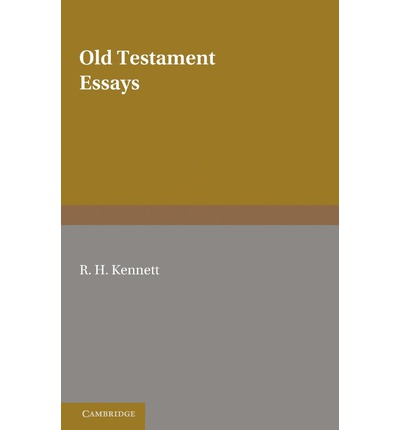 old testament paper An old testament knowhy for gospel doctrine lesson 19: question:  york as  my father presented a paper at the american chemical society.