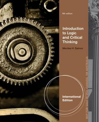 introduction to critical thinking and logic An introduction to critical thinking  the art of questioning: an introduction to critical thinking,  interpretation of categorical logic,.
