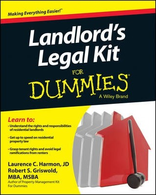 Landlord s legal kit for dummies robert s griswold 9781118775196