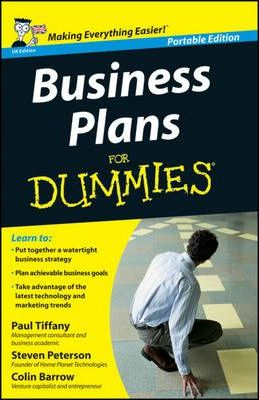 How To Make Business Plans Business Plans Kit For Dummies Pdf