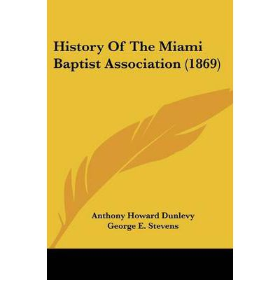 History of the Miami Baptist Association (1869)