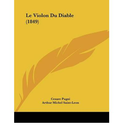 Le violon du diable 1849 cesare pugni 9781120395030 for Le miroir du diable