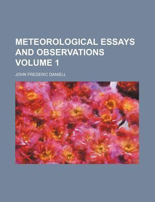meteorology essays Caleb clingan esci 1123 1 distinguish between weather and climate weather is the state of the atmosphere at a particular place and time.