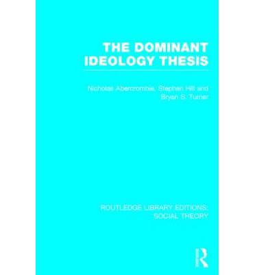 dominant ideology thesis