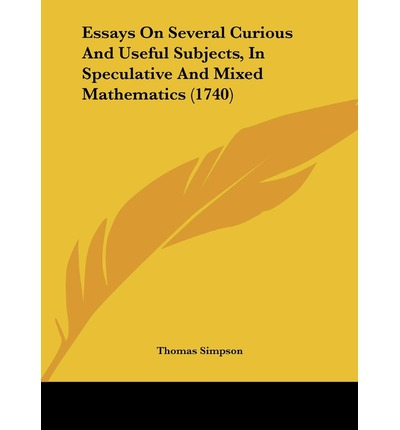 subjects mathematics buy essays