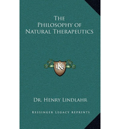 the philosophy of natural therapeutics pdf