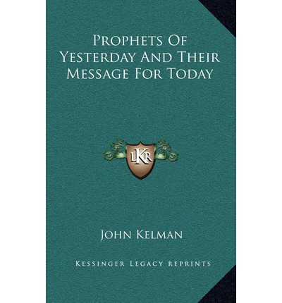 prophets and the importance of their messages Isaiah was a hopeful, faithful and loving prophet of god much of his message is relevant for our time if we will heed his admonitions, repent of our ungodly ways.