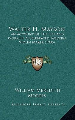 Account of the life and works of william harper