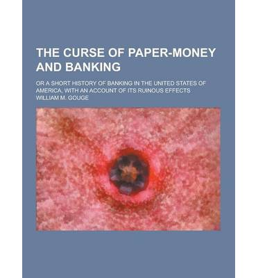 history of money and banking essay Despite such an expanded money supply, the member banks have  our money  supply and bring on the biggest inflation in the nation's history.