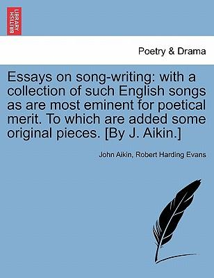 the song of songs essay Research essay: song lyrics vs poetry remember our song lyrics we are going to analyze them for poetic elements: speaker rhyme metaphor mood/ tone.