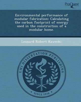 Gratis online bok pdf nedlasting Environmental Performance