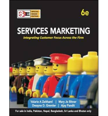 services marketing integrating customer focus across the firm pdf