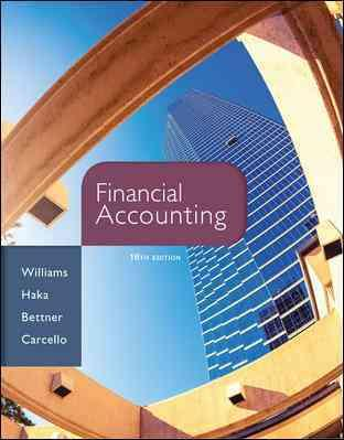 Télécharger des livres en ligne kindle Loose Leaf Financial Accounting with Connect Access Card (French Edition) PDF by Jan Williams, Susan Haka, Mark Bettner, Joseph