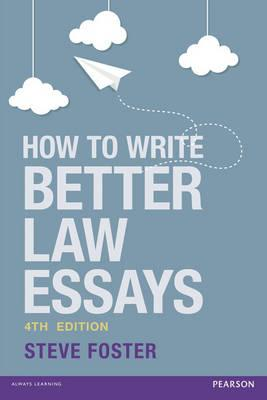 writing better legal essays How to write a law essay in a college legal studies course, and in some law school courses, you may be required to write a research paper addressing a legal topic these essays can be tricky cookies make wikihow better.