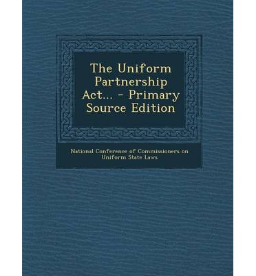 The Uniform Partnership Act 106