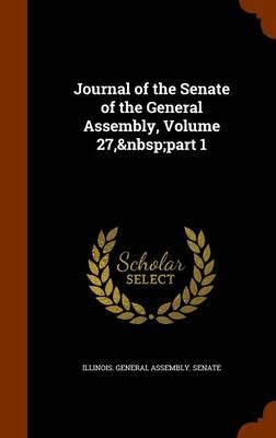 Journal of the Senate of the General Assembly, Volume 27, Part 1