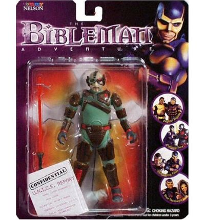 Bibleman Action Figure: Luxor Spawndroth