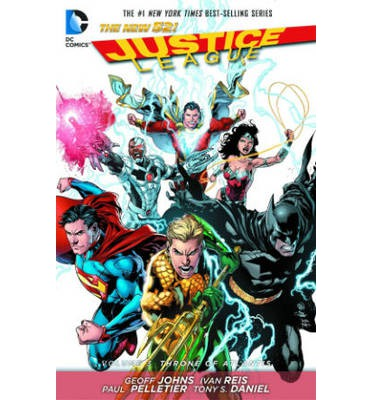 Justice League: Throne of Atlantis Volume 3