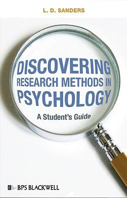 research methods of psychology The research methods course is among the most frequently required in the psychology major —and with good reason consider that a cross-cultural psychologist and a cognitive neuroscientist meeting.