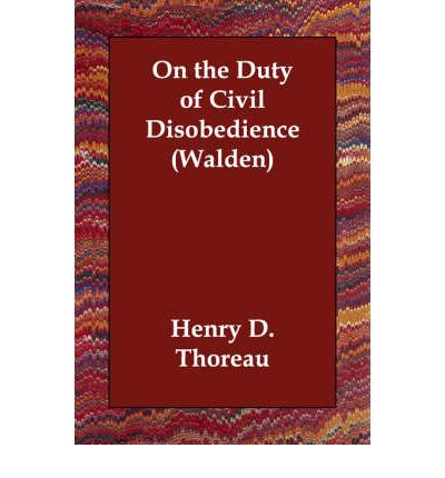 on the duty of civil disobedience essays